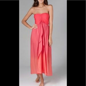 Robin Piccone Ombré Carreau Dress/skirt cover up